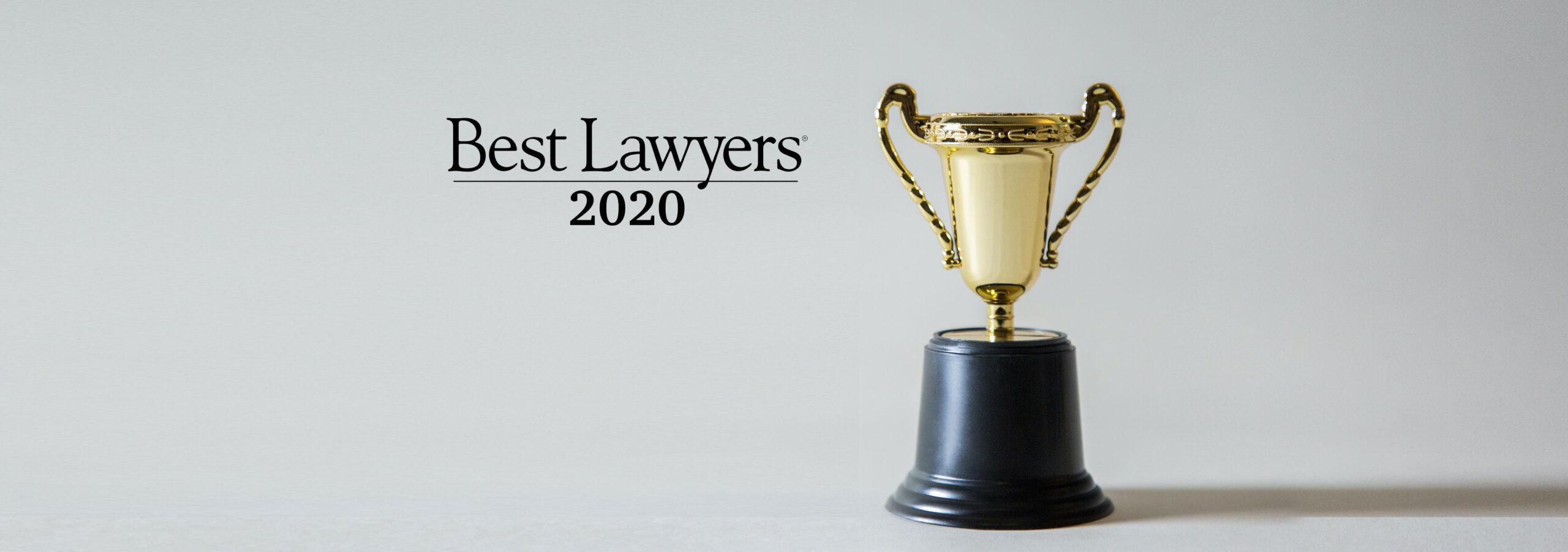Classements Best Lawyers 2020